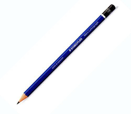Staedtler Mars Lumograph 100 Premium Graphite Pencils 4H