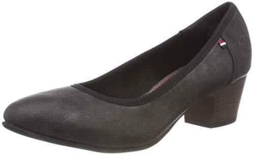 Klain Toe Women's Flats Black Jane Ballet 004 223 842 Black Closed qUqdCw
