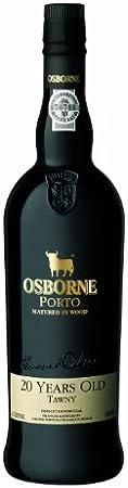 Vino D.O. Oporto Osborne. Porto Matured in Wood 20 Years Old Tawny 20º - 1 botella de 75 cl