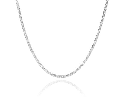 2mm-solid-sterling-silver-925-stamped-Italian-designer-SPIGA-espiga-wheat-chain-necklace-chocker-bracelet-anklet-with-lobster-claw-clasp-jewellery-jewelry-Available-in-lengths-inch-615cm-820cm-1025cm-