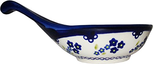 Polish Pottery Dipping Bowl or Serving bowl Forget-Me-Not ()