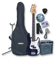 Cleva Cutting-Edge Encore EBP-PK40BOFT – Pack de guitarra eléctrica, pk40 Negro