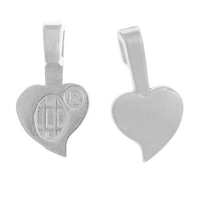 Amazon aanraku heart shaped glue on pendant bails medium 25 aanraku heart shaped glue on pendant bails medium 25 pieces silver aloadofball Gallery