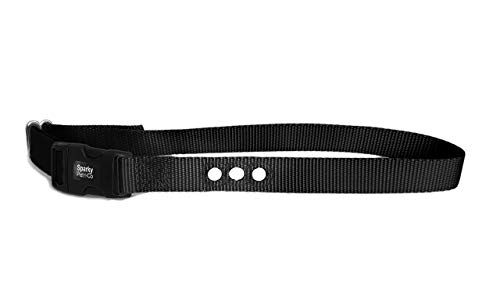 Sparky Pet Co 3/4″ RFA 68 Compatible Basic/Deluxe Bark Replacement 3 Consecutive Hole Dog Bark Collar (Black)