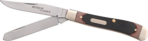 Schrade 94OT Gunstock Trapper 2 Blade Pocket Knife