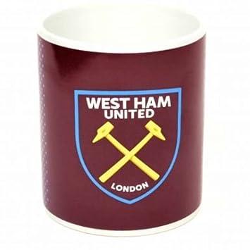 West Ham United Oficial Taza y Llavero Set de Regalo: Amazon ...
