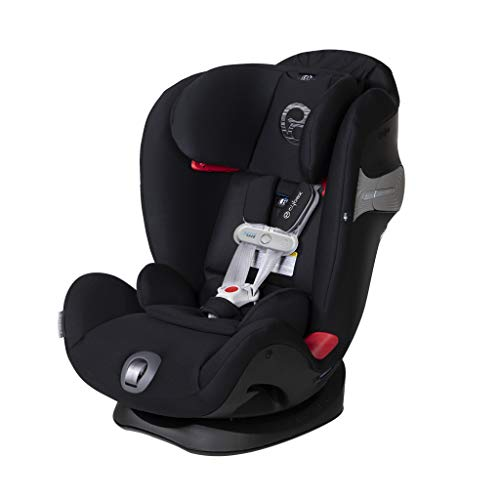Cybex Eternis S All-in-One Car Seat with SensorSafe, Lavastone Black, Standard