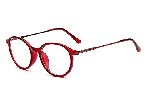 ddd5e0654a984 Flowertree Unisex S9365 Plastic Frame Thin Arm Oval 48mm Eyeglasses Small  Size (red) - Buy Online in Oman.