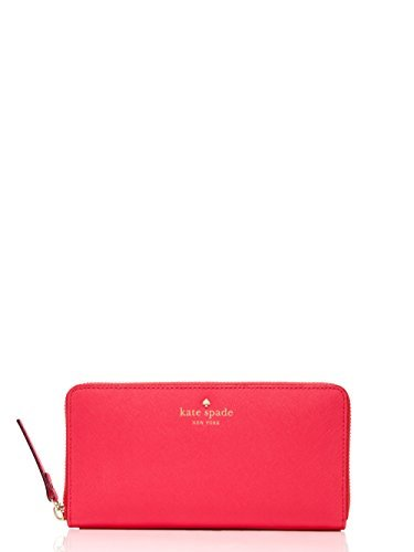 Kate Spade New York Lacey Leather Wallet Red