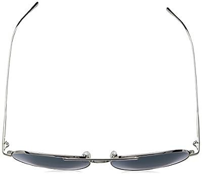 Calvin Klein Unisex Ck2155s Aviator Sunglasses, Gunmetal, 57 mm