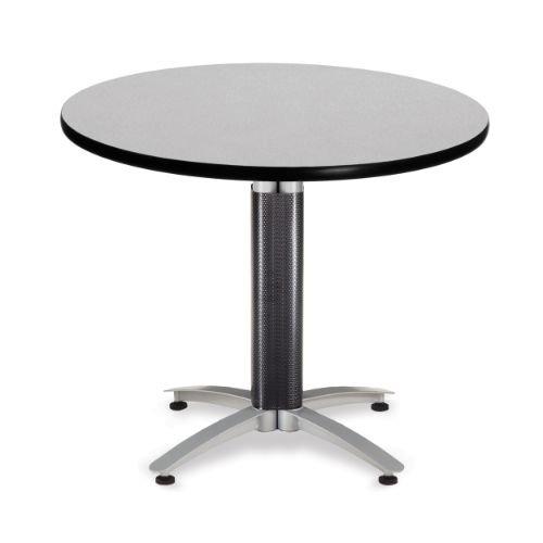 OFM KMT36RD-GRYNB Round Multi-Purpose Table, Metal Mesh Base