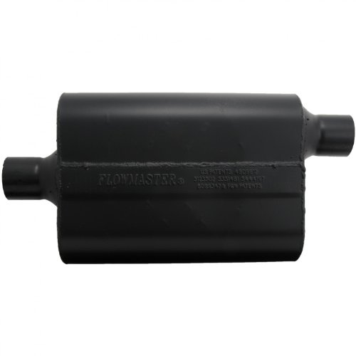 Flowmaster Super 44 Delta Flow Muffler (Flowmaster 942447 Super 44 Muffler - 2.25 Center IN / 2.25 Offset OUT - Aggressive Sound)