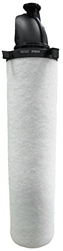 Parker 050AA Oil-X Evolution Compressed Air Filter Element, Removes Oil, Water and Particulate, 0.01 Micron by Parker