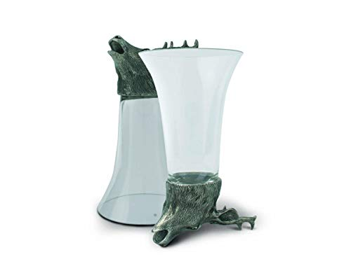 - Vagabond House Pewter Stag Stirrup Cup 5.5