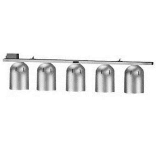 Nemco 6006-5 Heat Lamp, Pendant Stye, Single Row Suspension Bar, (5) 250 Watt In (Suspension Bar Heat Lamp)