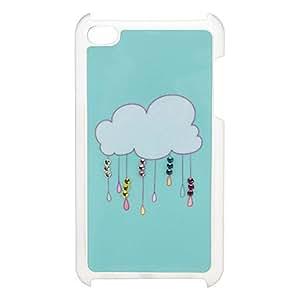comprar Nube Caso duro del patrón con diamantes de imitación para el iPod Touch 4