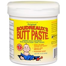 Boudreaux's Butt Paste Diaper Rash Ointment Original 16.0 oz. (Quantity of 3) by Groceries To Your Door
