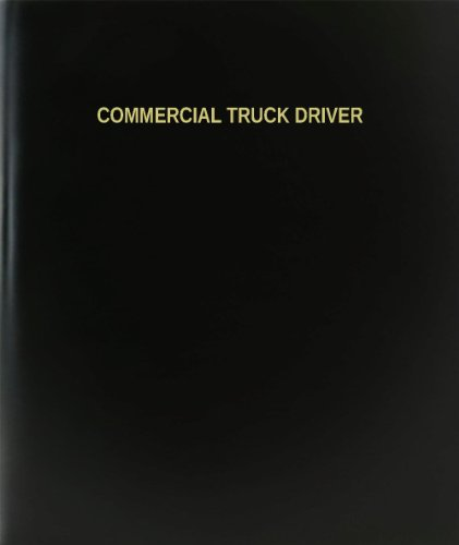 BookFactory Commercial Truck Driver Log Book / Journal / Logbook - 120 Page, 8.5