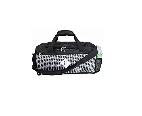 BoardingBlue NEW United Airlines FREE Personal Item Under seat (Black-White)
