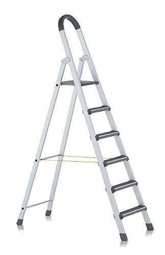ZARGES LM-Stufen-Stehleiter elox 6 Stufen Z600