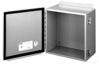 Hoffman A10086CH J Box, NEMA 12 Hinged Cover, Steel, 10