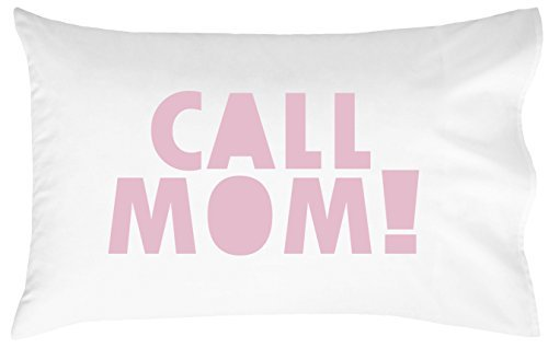 Oh, Susannah Call Mom Pillow circumstance Pink Graduation Gifts for College Dorm room fashion accessories Bedding for Girls or Boys Pillowcase fits Standard or Queen Size Pillow Graduation celebration Supplies 2018