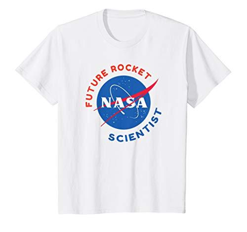 Kids Future Rocket Scientist NASA STEM Youth Tshirt