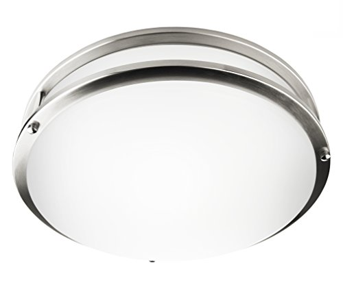 "Hyperikon LED Flush Mount Ceiling Light, 14"", 100W equivalent, 1950lm, 3000K (Soft White Glow), 120V, 14-Inch, Dimmable"