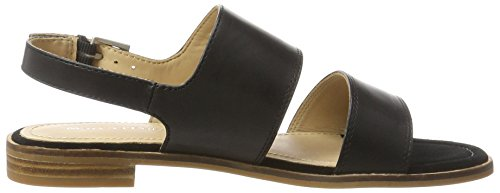 Marc O'Polo 70313861102100 Sandal, Women's Open Toe Sandals Black (Black)