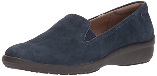 Loafers Blue Frauen Dark Easy Spirit Blue Suede Dark q4IEA