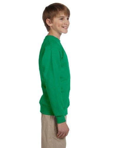 Hanes Youth ComfortBlend EcoSmart Crewneck Sweatshirt, Kelly