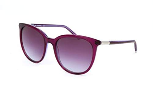 Calvin Klein Women's Ck4356s Cateye Sunglasses, Purple, 56 mm (Calvin Klein Sonnenbrille)