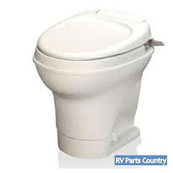 Amazon.com: RV Aqua Magic Hand Flush Toilet Motorhome Bathroom Waste ...