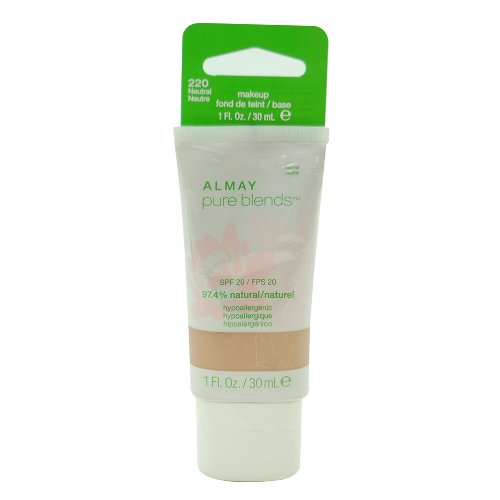 Almay Pure Blends Makeup, Neutral, 1 Fluid Ounce ()