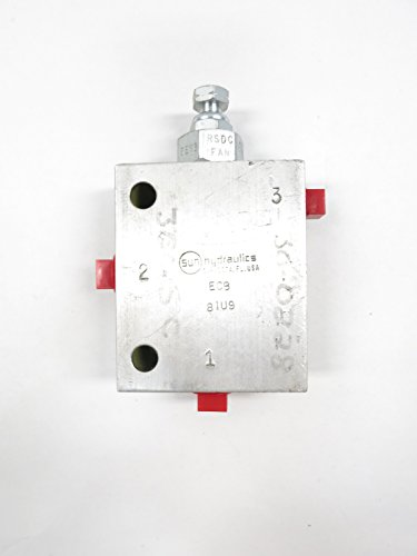 SUN HYDRAULICS ECB SEQUENCE CARTRIDGE VALVE 1200PSI D600332 from Sun Hydraulics