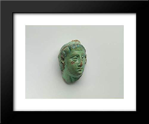 Ptolemaic Period - 18x15 Framed Museum Art Print- Head, Ptolemy III (?)