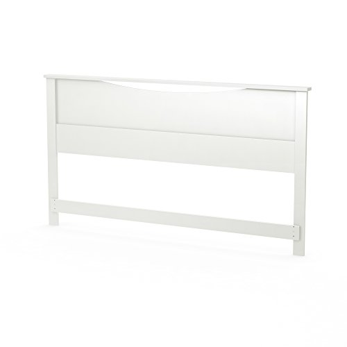 South Shore Step One Headboard, King, Pure White by South Shore