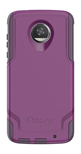 OtterBox COMMUTER SERIES for Motorola Moto Z2 Play - Retail Packaging - PLUM WAY (PLUM HAZE/NIGHT PURPLE)