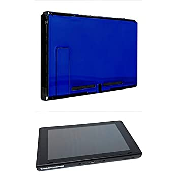 Image of Chrome Blue Custom Console for Nintendo Switch (Tablet Only) Consoles