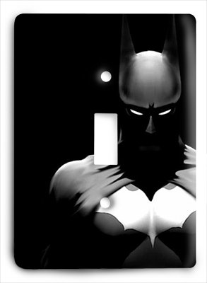 Batman g13 v Single Light Switch Cover