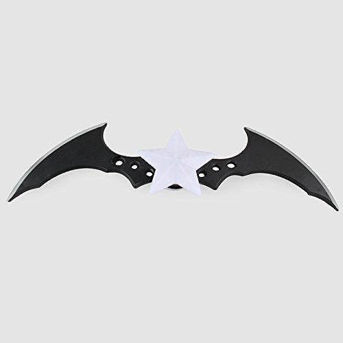 [DC Comics Batman VS Superman Dawn of Justice Batarang Replica PVC Action Figure with Light Model Kids Toys Type] (Pinata And Bat Costume)
