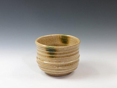 Japanese pottery sake cup (Seto-Yaki) by Seto-Yaki