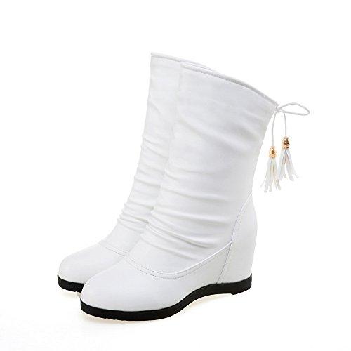 BalaMasa BalaMasaAbl10392 - A Collo Basso donna, Bianco (White), 35 EU