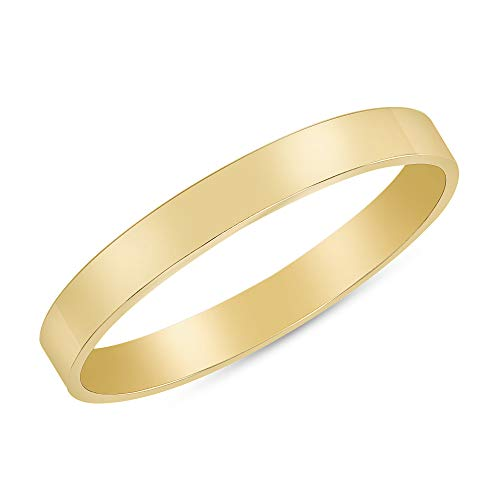 TOUSIATTAR 14K Gold-Filled Stackable Rings - Nice Women and Girls Stacking Ring Set - Fashion Delicate Simple Statement Jewelry Gifts for Her - Made in USA