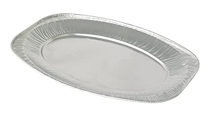 "Thali Outlet – 100 x 17 ""Bandeja de bandejas desechables de papel normal 43"