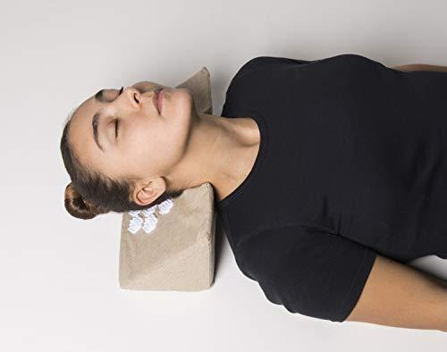 Kanjo - Memory Foam Acupressure Cervical Traction Wedge ...