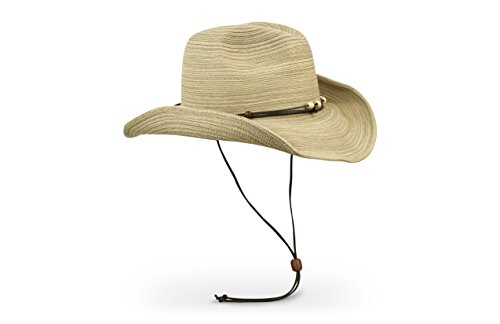 Sun Protection Cowboy (Sunday Afternoons Women's Sunset Hat, Oat, One Size)