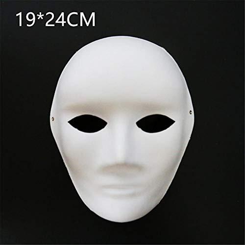 Facial Mask Bowl - 2019 Halloween Mask Thickened Diy Environmentally Friendly Paper Pulp Dance Party Blank Hand - Party Pack Women Masks Kids Masquerade Wear Dinosaur Bulk Gold Superhero Sti