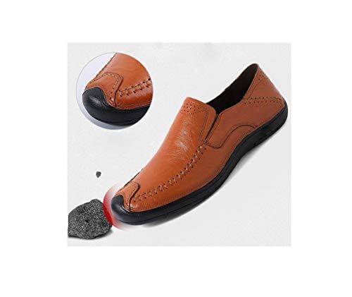 Scarpe Black Casual da da zmlsc Passeggio Scarpe Inghilterra Piselli da Uomo Scarpe Uomo Scarpe Scarpe Piedi Business dw4wa