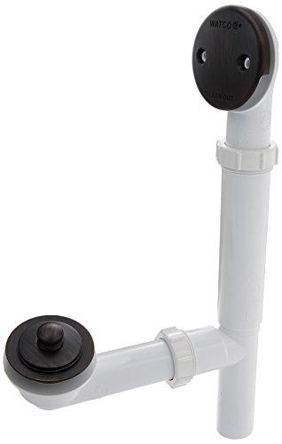 Watco 500-LT-PVC-BZ Lift & Turn Bath Waste, Rubbed (Plastic Waste Oil Drain)